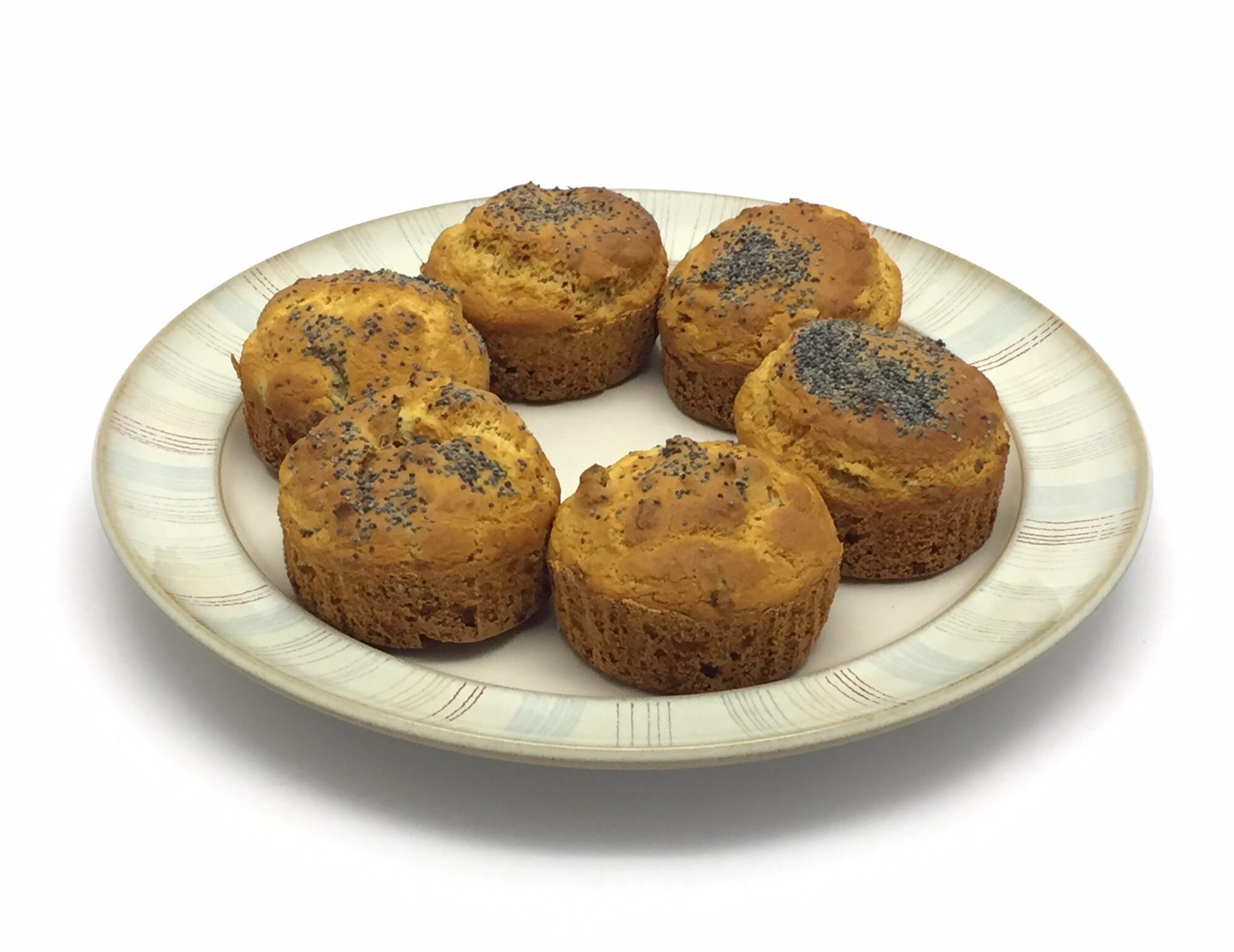 03 luglio 2015  - Muffin senza glutine con pomodori secchi e olive