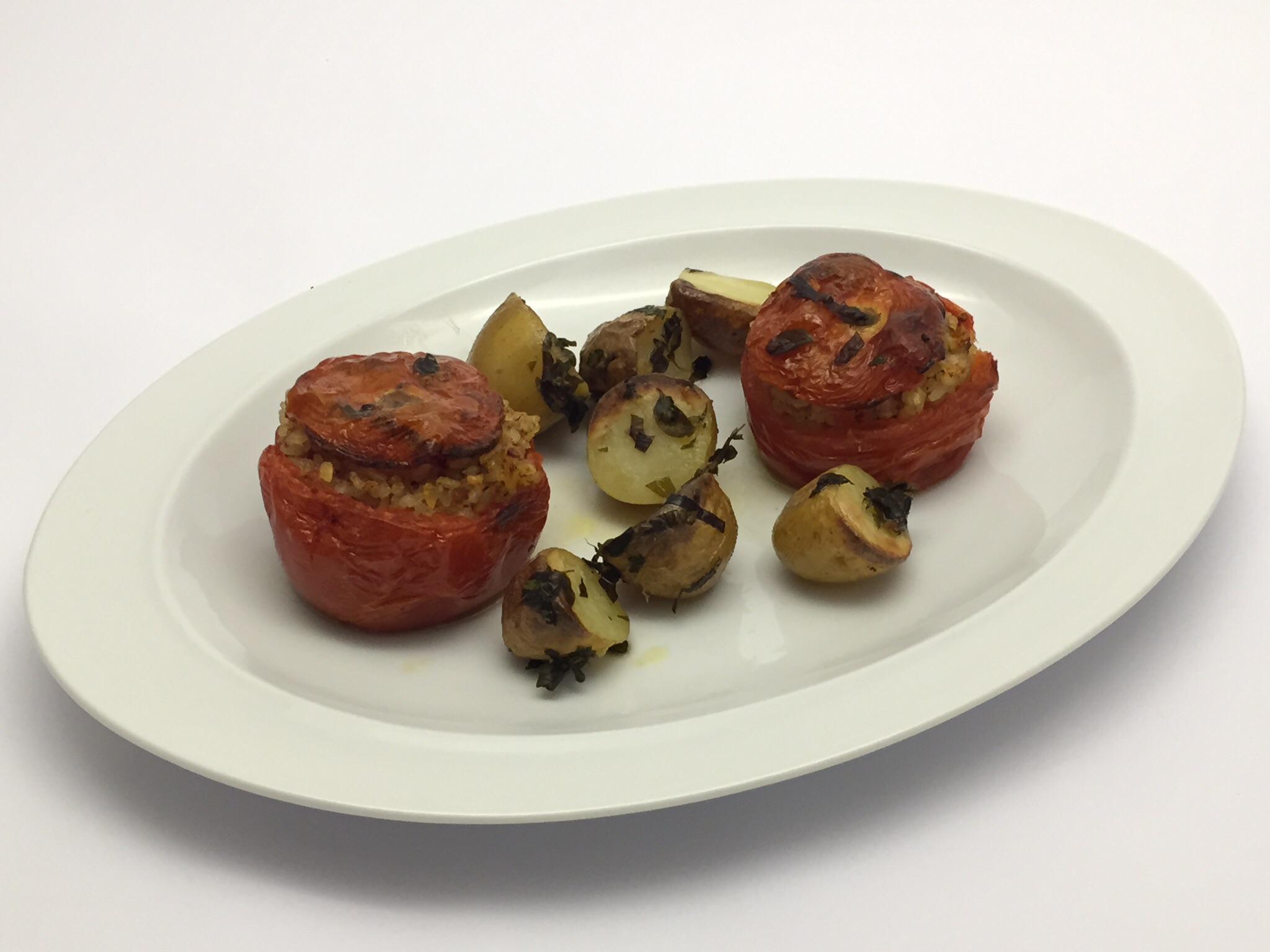 Pomodori Ripieni Al Riso Sono Un Classico Della Cucina Mediterranea #6B3A23 2048 1536 Cucina Mediterranea Senza Glutine