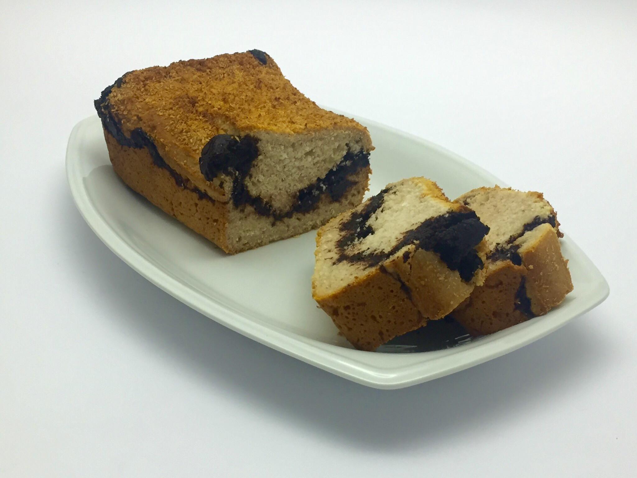 19 novembre 2016  - Pane al cocco di Benedetta Parodi, ma senza glutine e con cuore di cacao
