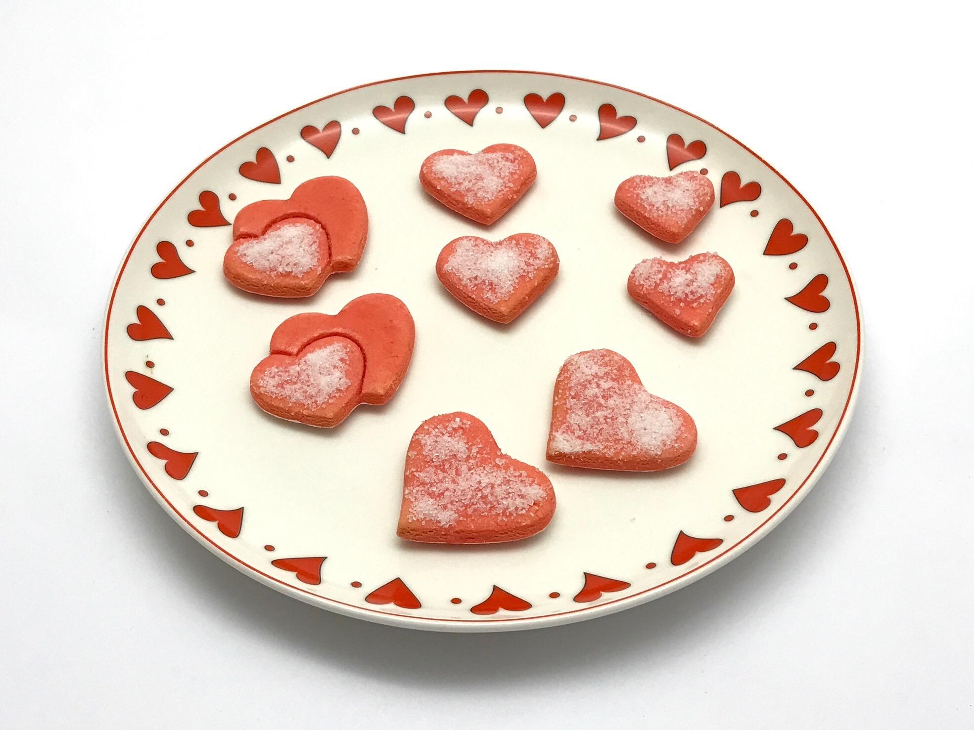 14 febbraio 2017  - San Valentino senza glutine: frollini in rosa
